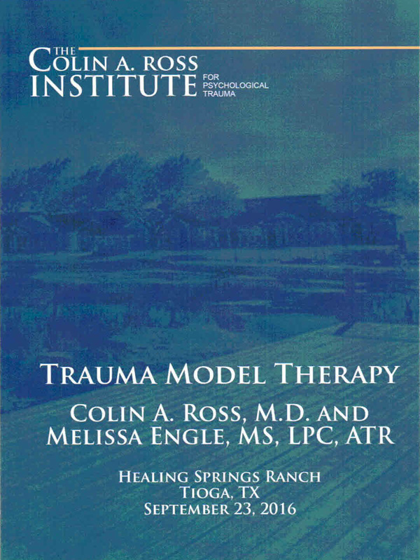 Trauma Model Therapy (DVD) - Click to Close